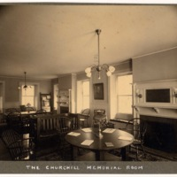 Foxcroft Hall's Churchill Memorial Room